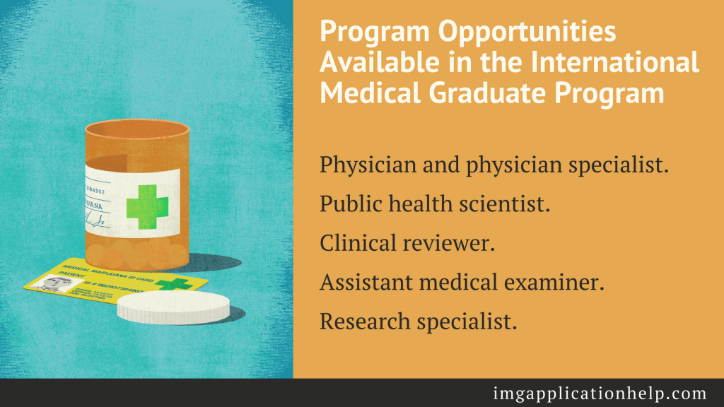 international medical graduate program