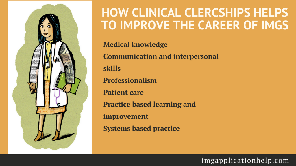 benefits of clinical clerkship for img