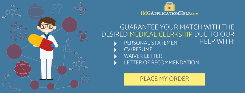 clinical clerkship for img application help